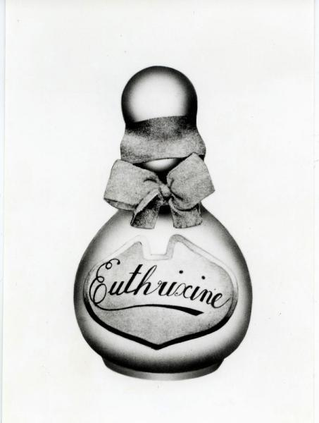 1898年発売の香油「花かつら」(オイトリキシン)
