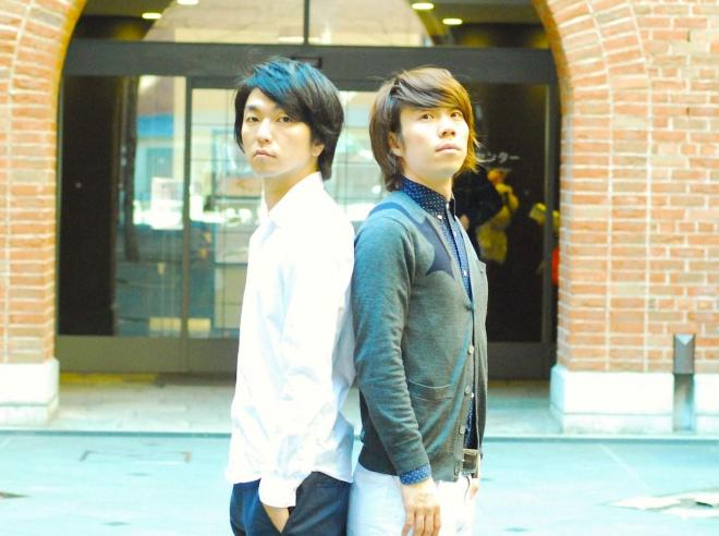 「ウラニーノ」の山岸賢介さん(左)と小倉範彦さん(右)