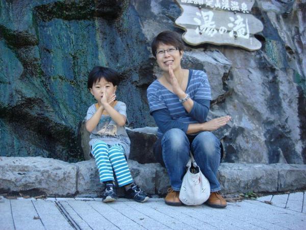 「子どものため」。やっとウィッグを外すことができた頃、北海道旅行に行った