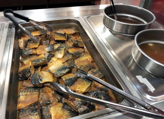 まさかアリゾナで、サバのみそ煮を食べられるとは