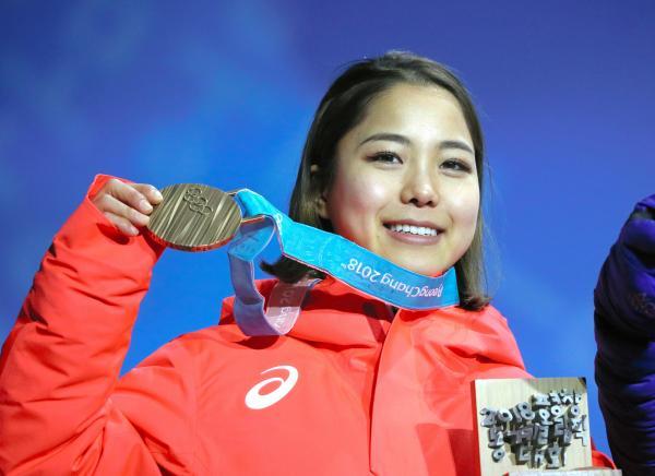 平昌五輪で銅メダルを獲得した高梨沙羅選手(21)