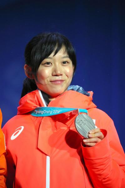 平昌五輪で銀メダルを獲得した高木美帆選手(23)