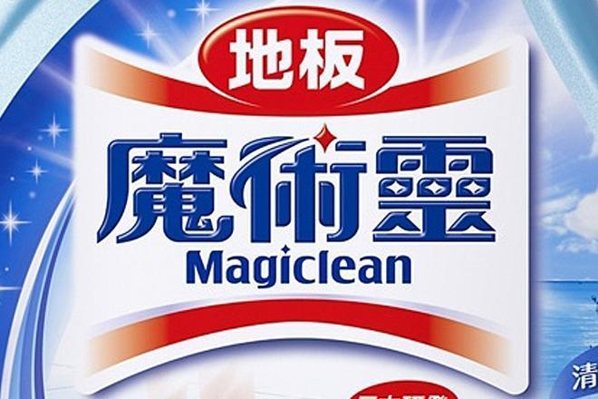 台湾で販売されているマジックリンのラベル