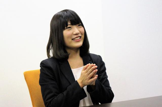 オトバンク広報の佐伯帆乃香さん