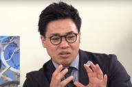 テレビ中継を見ながら、朝日新聞デジタルで解説をした清水宏保さん