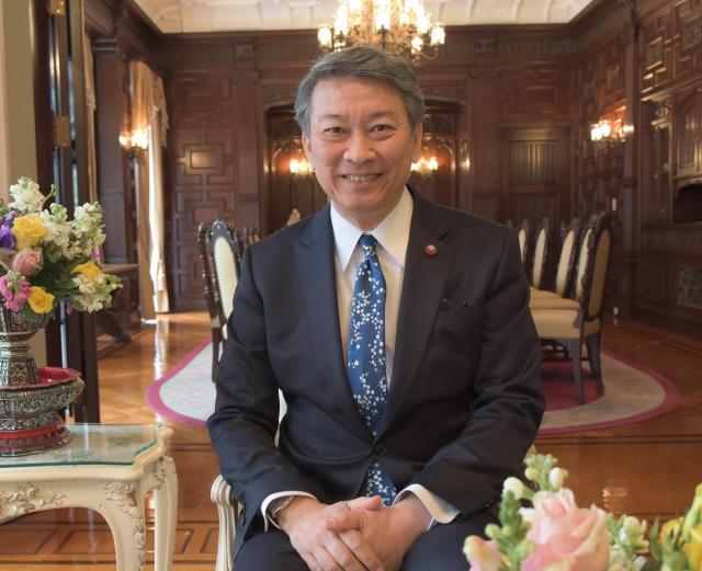駐日タイ大使館のバンサーン・ブンナーク大使