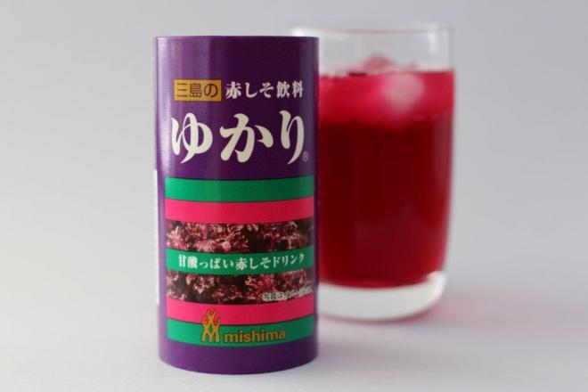 こちらは三島食品の限定商品「ゆかりドリンク」。こちらはお酒じゃありません