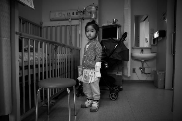 長女・結希ちゃんとの日常を撮った写真