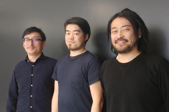 左から木村洋さん、山﨑博司さん、二澤平治仁さん