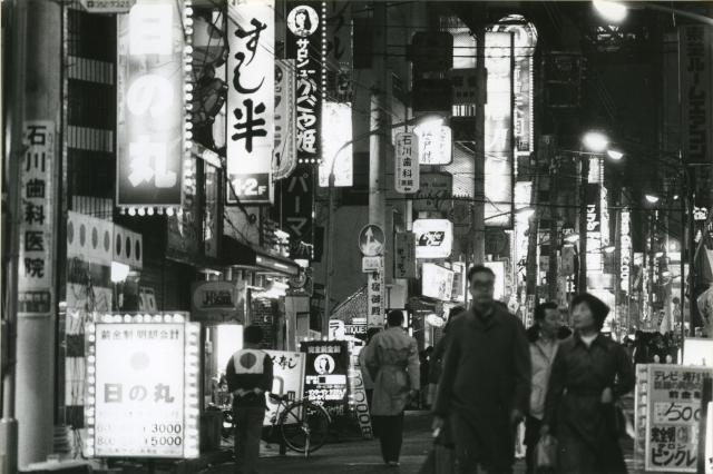 1979年の歌舞伎町の様子