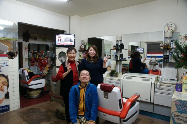 大分・保戸島で訪れた散髪屋