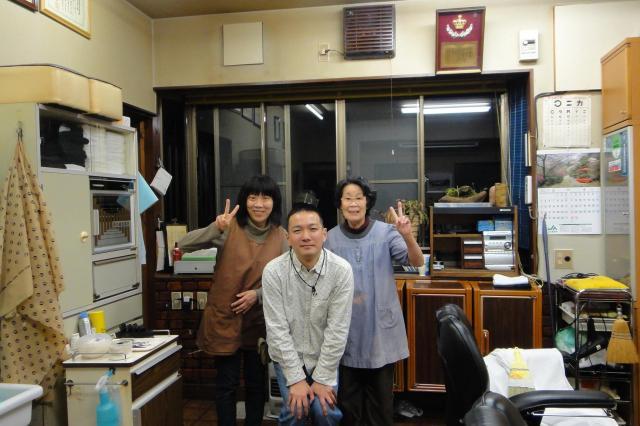 東京・青梅で訪れた散髪屋