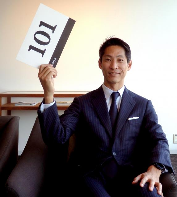 サザビーズジャパンの平野龍一社長