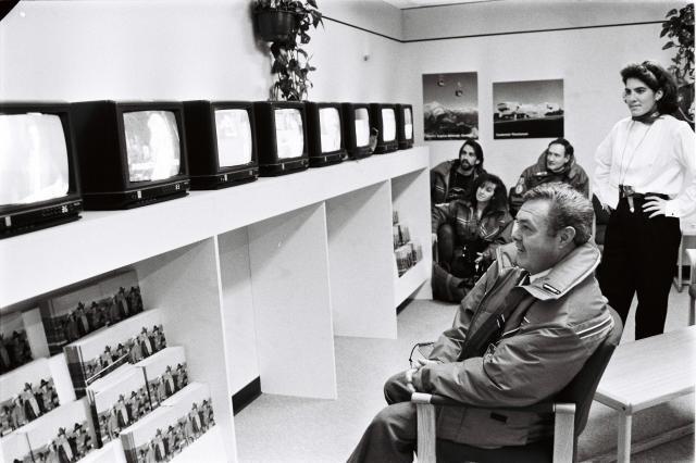 1988年のカルガリー冬期五輪、五輪放送センター