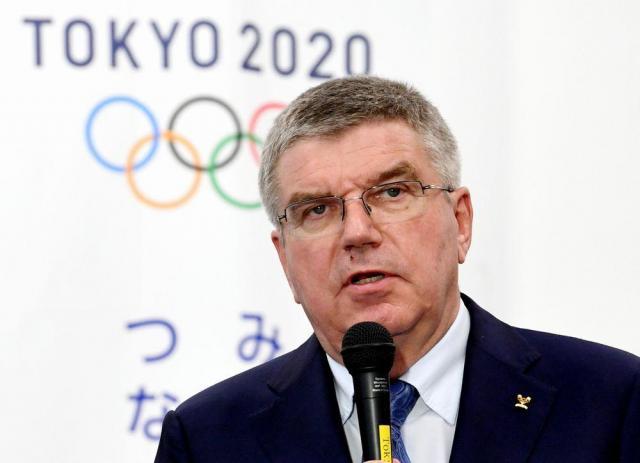 IOCのトーマス・バッハ会長=2016年10月19日