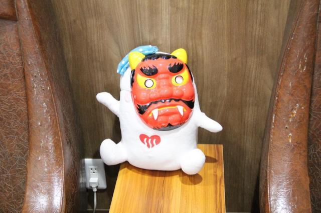 「梅の湯」で見つけたマスコット