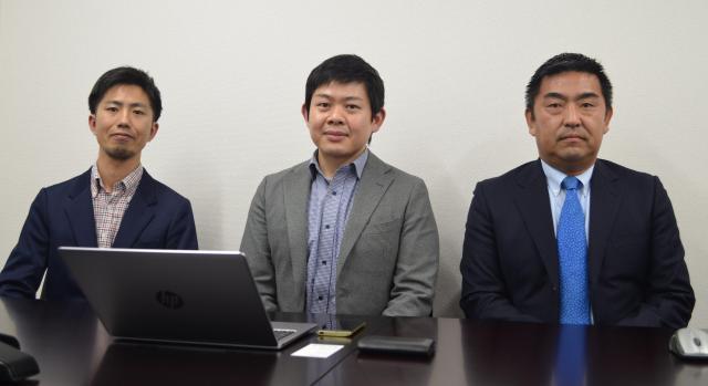 「Paren2」の企画・監修に携わった大江弁護士(中央)