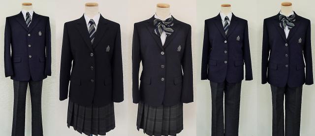 4月に開校する柏市立柏の葉中学校の制服