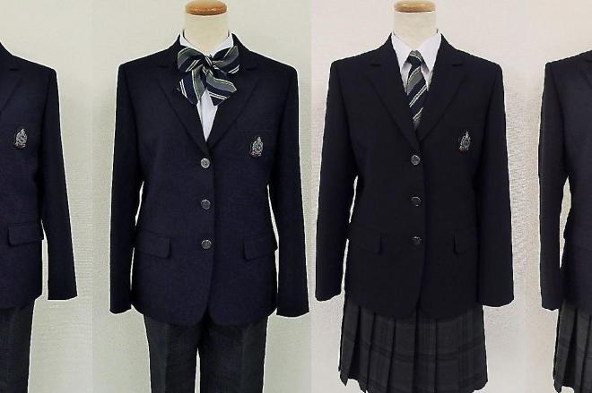 柏市立柏の葉中学校に導入される制服