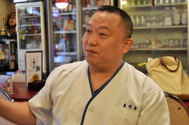 「異味香」の店主・山田慶忠さん