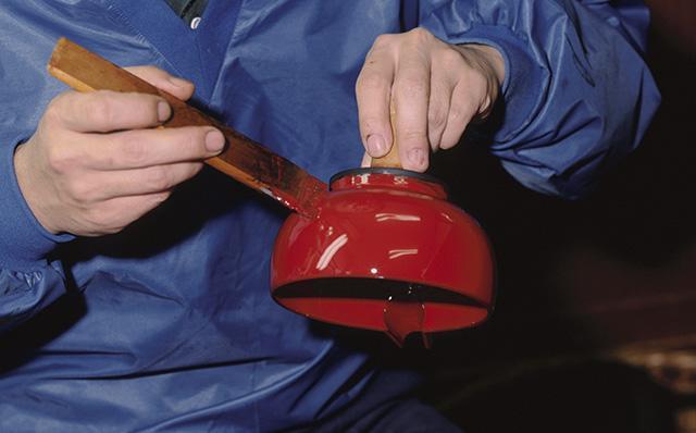 輪島塗の技術は長い年月をかけて磨き上げられた