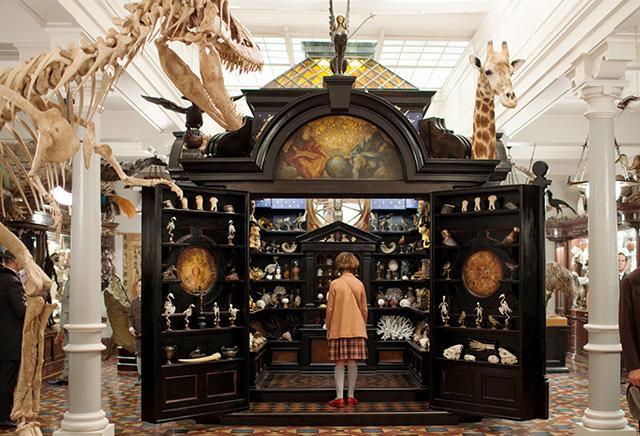 博物館などの映像も美しい。見どころ満載の映画
