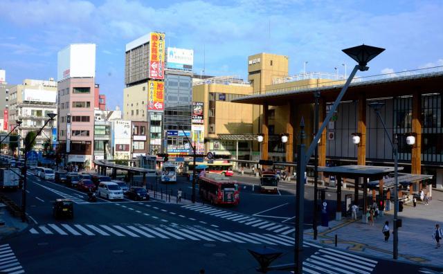 長野駅前善光寺口