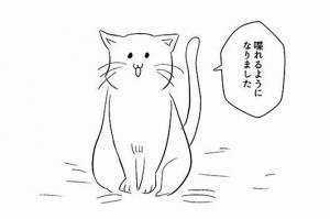 もし、うちの猫がしゃべれたら…ジョークに混じる切ない本音にウルッ