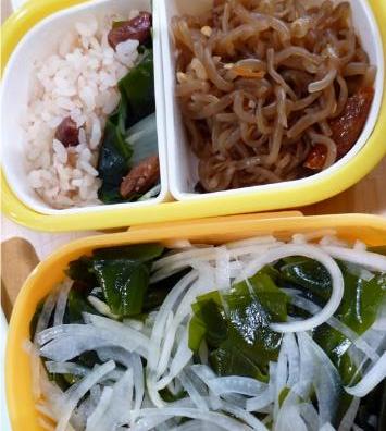 食べる量を減らしていた大学3年生の頃の金子さんのお弁当