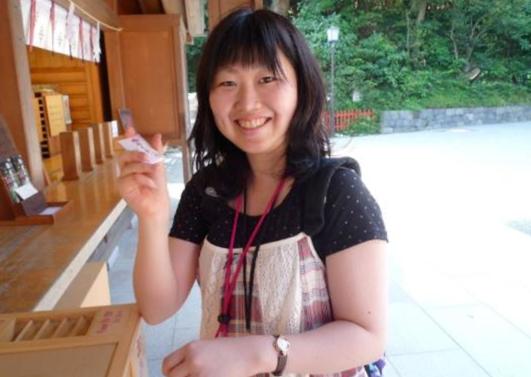 ダイエットを始めた大学2年生の頃の金子さん