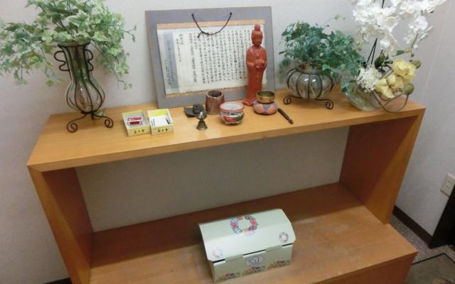 みよし動物病院に併設された霊安室