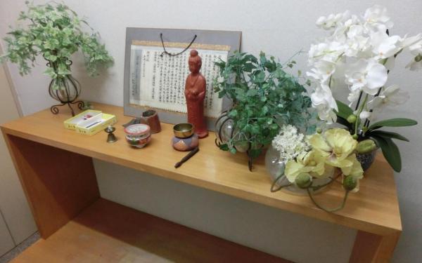 動物病院に併設された霊安室