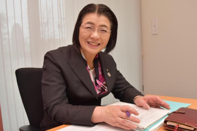 「幸せな体験の積み重ねが強い心につながります」と話す中島伸子さん