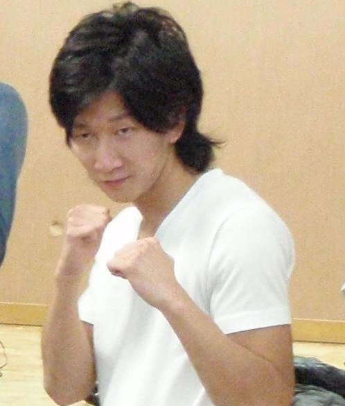 ボクシングクラブに通っていた高校時代の松江さん