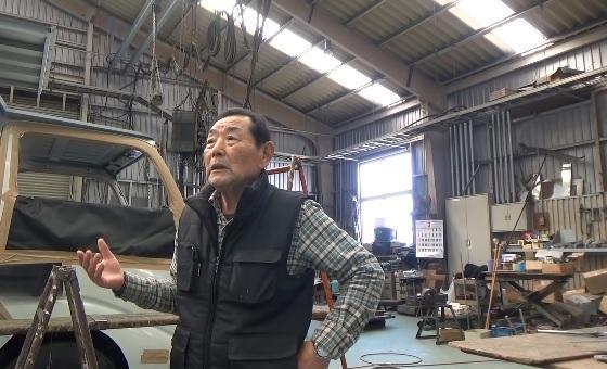 「林田製作所」工場長の塩澤和夫さん