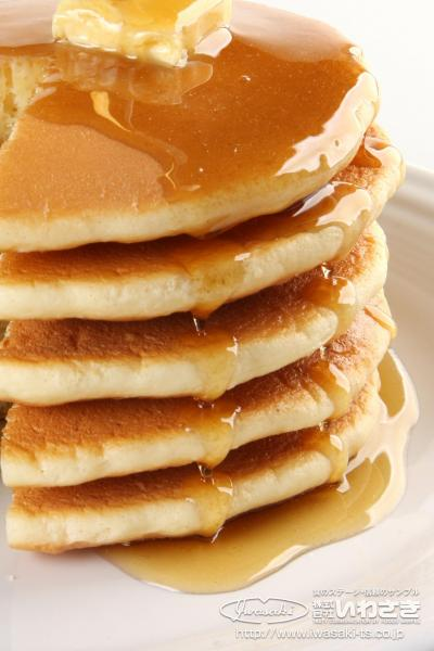 こちらはパンケーキ