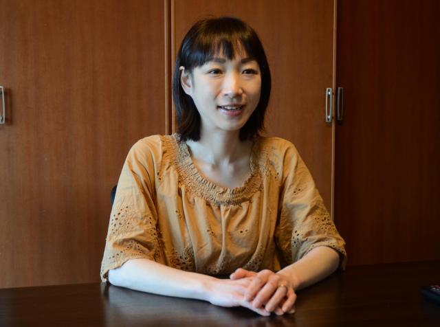 「働く時間帯が一人一人に合わせてもっと柔軟になると良いですね」と話す里田さん