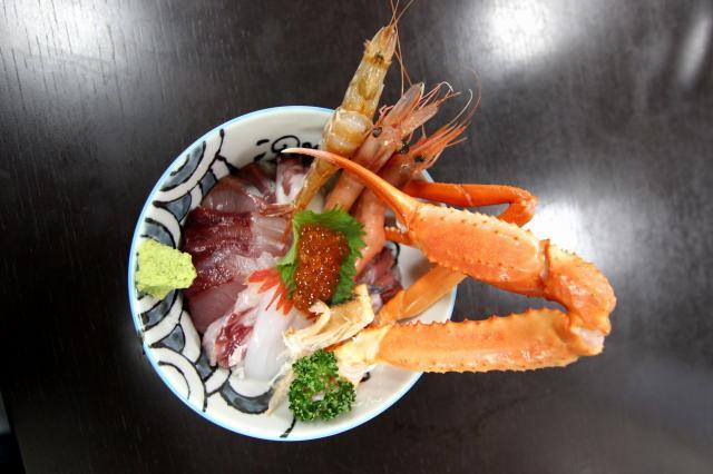 海鮮丼がおすすめ