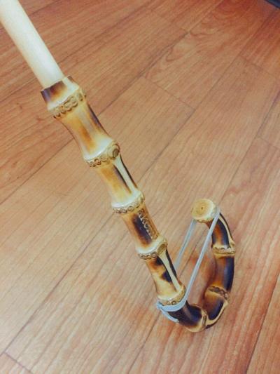 竹の持ち手部分も日本製にこだわりました