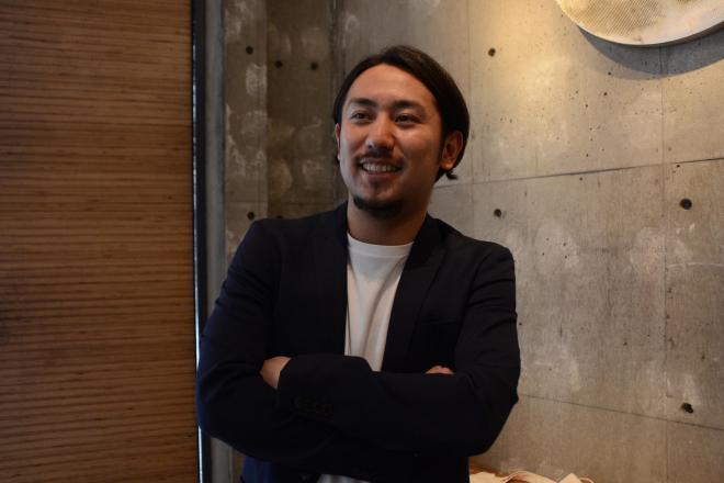 「『副業社員』を今年の流行語にしたい」と意気込む松村社長