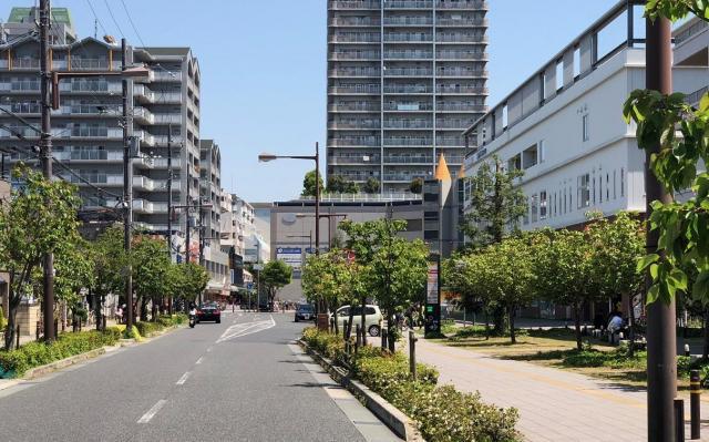 かつてビール工場があったJR尼崎駅の周辺