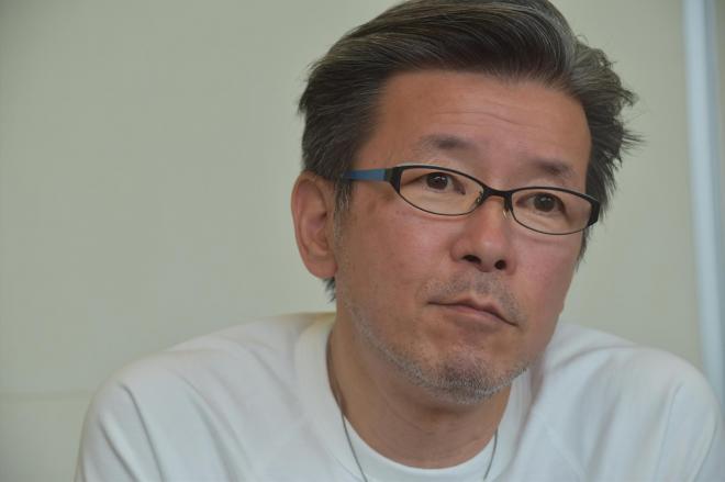 「水曜どうでしょう」の嬉野ディレクター=奥山晶二郎撮影