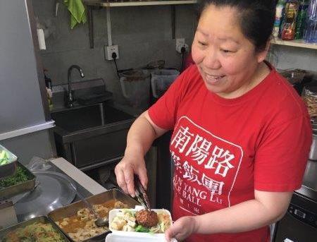 上海のお弁当やさん=宮嶋加菜子撮影