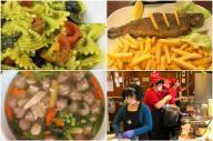 世界中、どんな小さな街にも食堂やレストランはあります。忙しい昼時にもおいしいものを食べたいのは万国共通です
