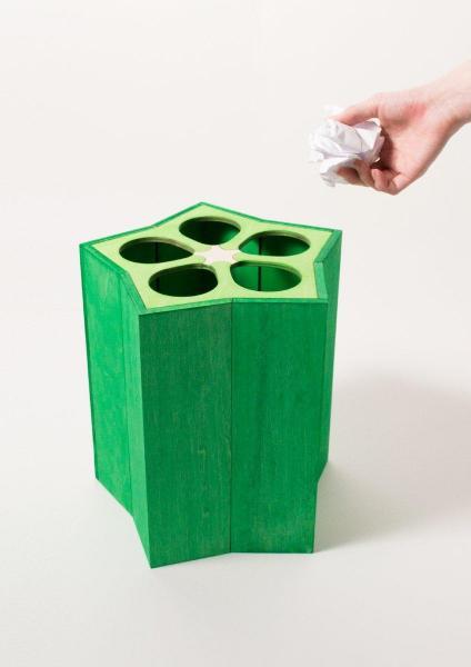 話題になっているオクラのゴミ箱。没アイデアをお蔵入りさせるのにピッタリ