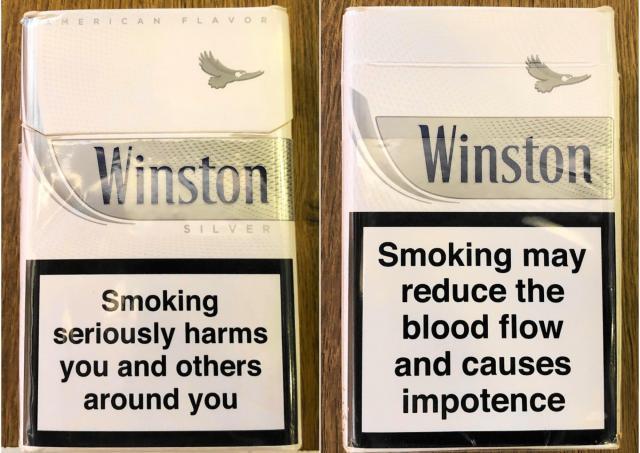 カイロ空港の免税店のタバコ