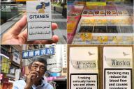 世界のタバコケースを集めてみると、警告表現がマイルドなのは日本、アメリカ、中国、中東諸国でした