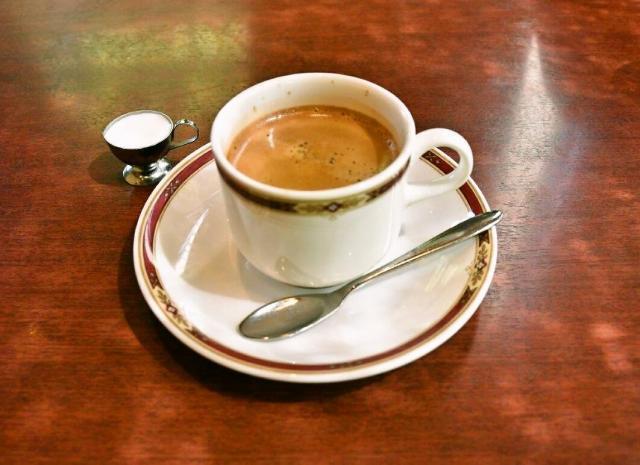 あれ、コーヒーだけ。その理由は後述します=名古屋市中区