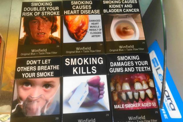 オーストラリアのタバコ
