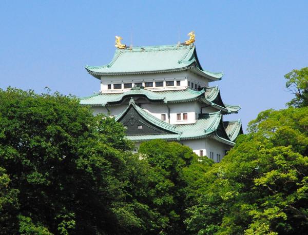 名古屋城の天守閣=岡戸佑樹撮影
